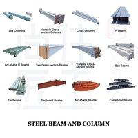 steel structure beam / column
