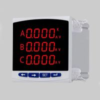 LED multifunction voltmeter ammeter combo meter for sale