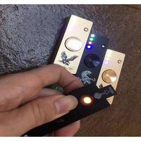 2017 Newest Metal with LED Light Spinner USB Cigarette lighter Fidget Spinner thumbnail image