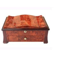 Burlwood Men's Jewelry Chest