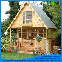 Brand new prefab wooden garden house/log cabin/green house thumbnail image