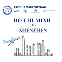 Cost effective Air freight from SGN Ho Chi Minh Vietnam to China SZX Shenzhen// CAN Guangzhou thumbnail image