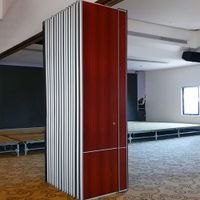 Office Partition Aluminium Profile Operable Sliding Partition Wall