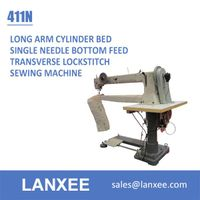 Lanxee 411N single needle long arm filter bag sewing machine