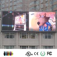 Advertisement screen LED outdoor wall-mounted waterproof advertising screen P10 hd LED advertising d