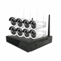 2 Mega Pixels HD NVR Kit Weatherproof 8CH 1080P Built in Router WIFI CCTV NVR Kit For Home Security thumbnail image