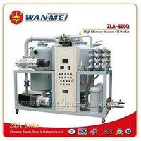 ZLA Series Double-Stages High Efficiency Vacuum Oil Purifier Which Used For Transformer Oil