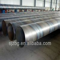 BG api 5l sprial welded schedule 40 carbon steel pipes astm a53