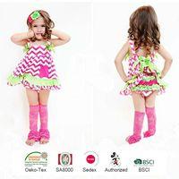 Super Beautiful Wholesale Girls Toddler Swing Top Swing, Back Top Set