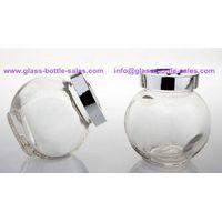 Glass Candy Jar