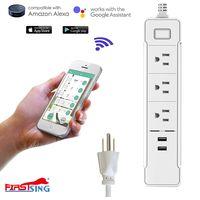 Firstsing Soundance Wifi Smart Socket Power Strip USB Charging Ports Countdown Timer via APP thumbnail image