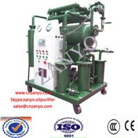 ZYS China New T type Single stage vacuum transformer oil purifier machine
