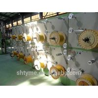 Optical fiber cable sheathing machines and production line