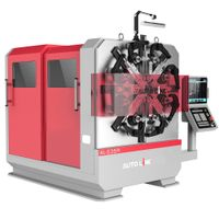 5 axis CNC wire forming machine rotary spring former