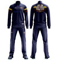 Custom Collegiate Basketball Full Zip Jackets and Pants sublimation print thumbnail image