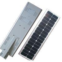 All In One LED Solar Street Light 30W , Solar Panel Street Lights IP65