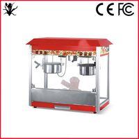 cheap whole body stainless steel restaurant snack bar popcorn machine
