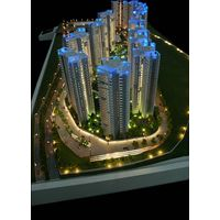 Architectural scale model with advanced touch screen lighting control system thumbnail image