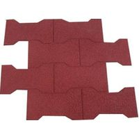 Sell Middle Dog Bone Type Rubber Flooring Tiles