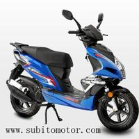 EEC GAS SCOOTER Euro 50CC 4T NEW DESIGN SPORTIVE SCOOTERS motor thumbnail image