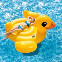 Custom Inflatable pool Float yellow Duck