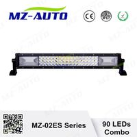 "MZ new sales 135W LED offroad light bar1.5W 3030 chips 20.3""three row straight light bar Combo"