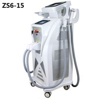 ZS6-15 4 IN 1 E-light+IPL OPT SHR+ND YAG Laser+ RF Multifunction Beauty Machine with CE