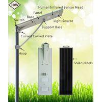 hot sale solar powered led street light/highway solar light