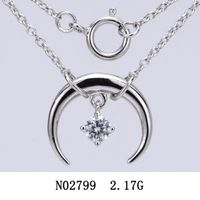 Cut Fine Jewelry 925 silver necklace N02799 thumbnail image