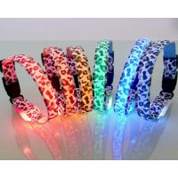 LED colorful pet safety collar