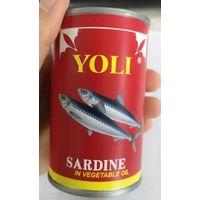 Sardines in vegetable oil thumbnail image