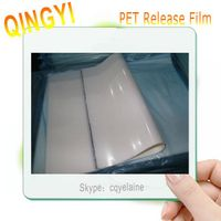 Hot selling hot/cold peeling PET plain/matte transfer  film thumbnail image