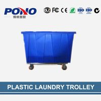 China supplier critically acclaimed Pono-9008 plastic garment delivery truck with strong durable whe