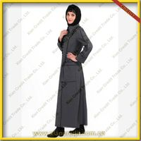 2014 Newest muslim women abaya made of flannel KDT - 1011