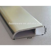 Popular aluminum kitchen cabinet door edge kitchen aluminum profile handle