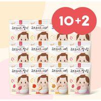 Momsmi Cube Yogurt Fruit Chips 10 +2