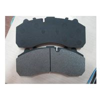 truck brake pad wva29105 for iveco/bpw/saf/daf