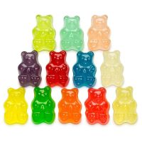 colorful Bear Gummies