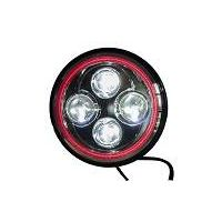 7 inch round H4 headlight for wrangler, haley jeep hummer