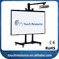 Accept customized 78 to 104 inch smart board whiteboard