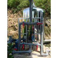 Well water filter ,well water filtration system , iron and manganese removal filter for groundwater, thumbnail image