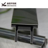 Sus 304 stainless steel ceiling tile trim strip transit decoration