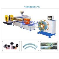 PVC Spiral Steel Wire Reinforced Hose Production Line thumbnail image