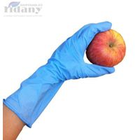 Long cuff nitrile gloves 12""