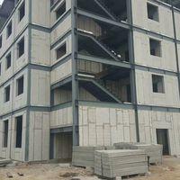 Villa use light steel eps foam cement wall board sandwich panels