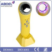 Yellow Photon Led Light Therapy Face Skin Rejuvenation Massager