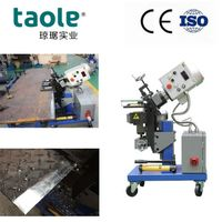 Metal Plate Rim Chamfering Machines China