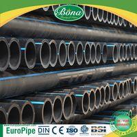 [EUROPIPE] PN10 pressure best quality best-selling hdpe pe water pipe