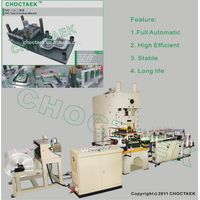 Full automatic aluminium foil container making machine