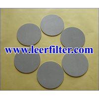Titanium Porous Filter Disc thumbnail image